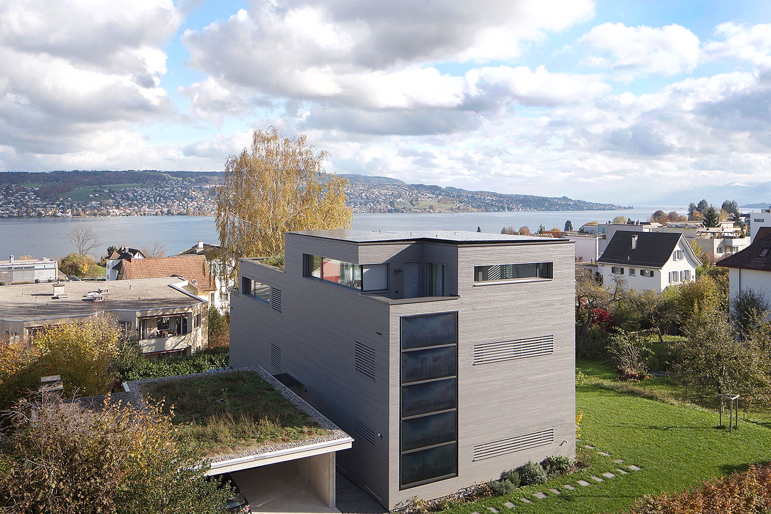 Doppeleinfamilienhaus Thalwil 2018